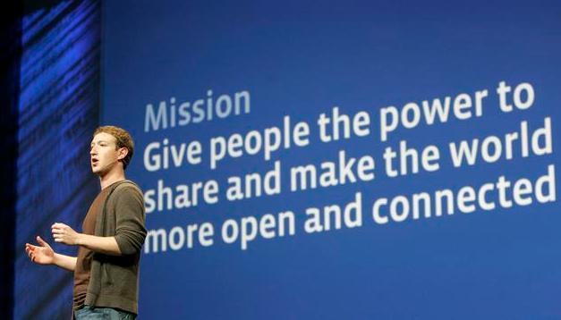 Facebook misszió. .- Exaline Média