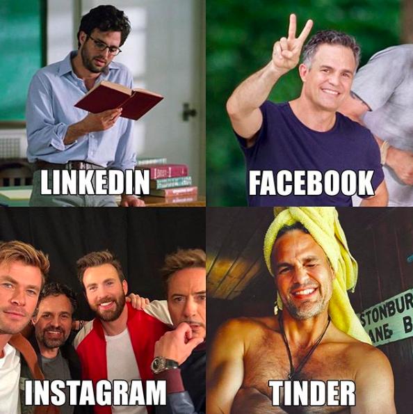 Mark Ruffalo meme-je szépen megmutatja viselkedésünk diverzitását. Exaline Média