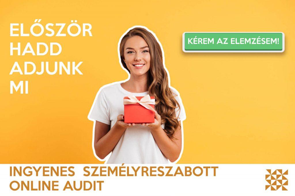 Kérj ingyenes online auditot a cégedről! Marketing reportot készítünk neked ingyen. Exaline Média