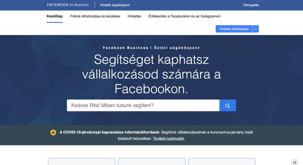 Facebook Súgóközpont.