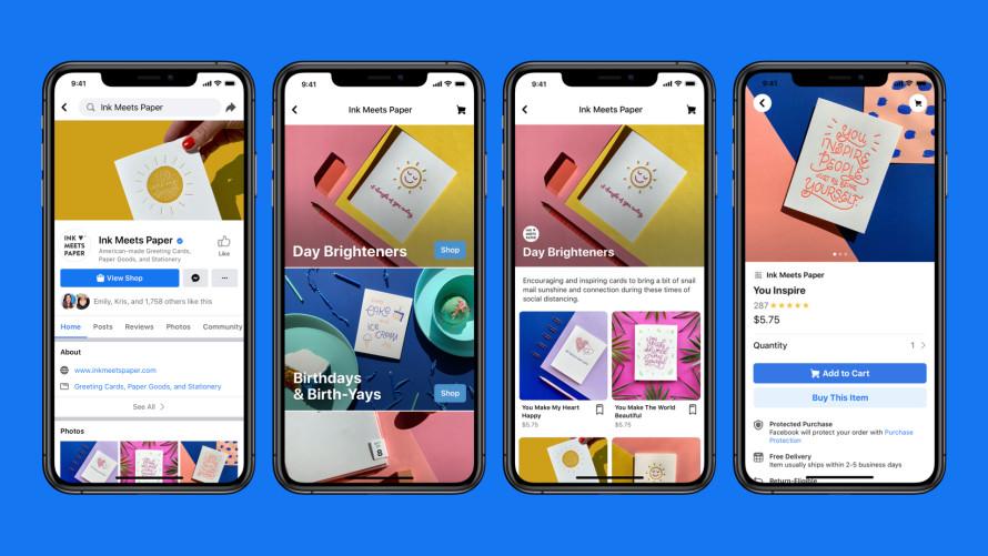 A Facebook elindította új e-kereskedelmi szolgáltatását Facebook Shops néven, így mostantól közvetlenül a platformon keresztül is lehet értékesíteni.