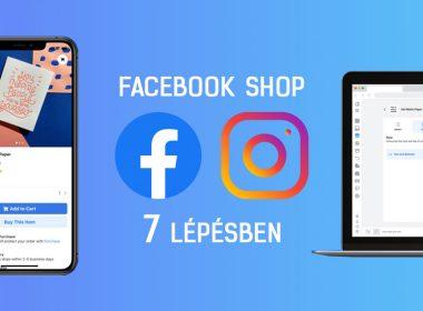 Facebook Shop létrehozása 7 lépésben